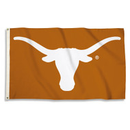 Texas Longhorn Burnt Orange Logo Flag (35234)