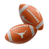 Texas Longorn Nike Training Rubber Football (A91661-DOR-OS)
