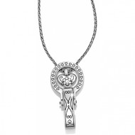 Brighton Badge Clip Necklace (J43380)