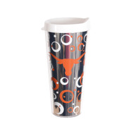 Texas Longhorn Mod Circle Travel Mug (TRT-22S)