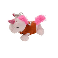 Texas Longhorn Plush Unicorn Keychain (C36-000)