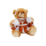 Texas Longhorn Plush Cheer Bear (C79-000)