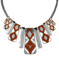 Texas Longhorn Aztec Necklace (3367520)
