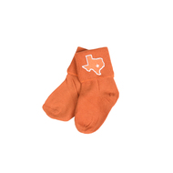 Texas State Ankle Socks (Infant-Youth) (FMOTX2426)