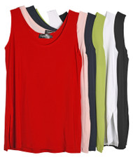 Sympli Go To Knit Layering Tank (6 Colors) (21120R)