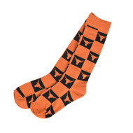 Texas Longhorn Squares Over the Calf Socks (XODC1-IND)