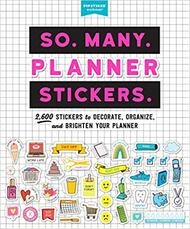 So. Many. Planner. Stickers. Book (100815)