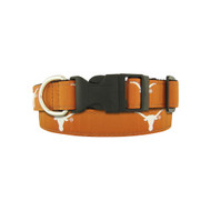 Texas Longhorn Dog Collar (UTX-DCR41OR)