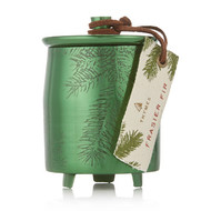 Thymes Frasier Fir Heritage Small Green Metal Tin Candle (0523577000)