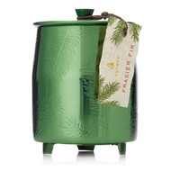 Thymes Frasier Fir Heritage Medium Green Metal Tin Candle (0521576000)