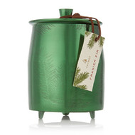 Thymes Frasier Fir Heritage Large Green Metal Tin Candle (0524577000)