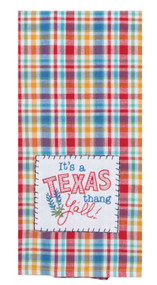 It's A Texas Thang Applique Towel (F2208)