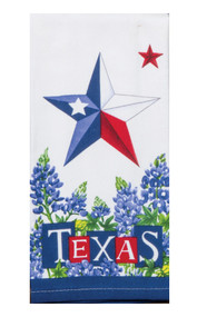Texas Dual Star Terry Towel (R4320)