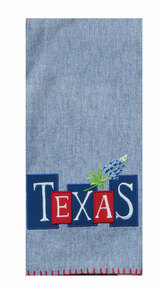 Texas Star Applique Towel (R4327)