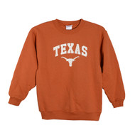 Texas Longhorn Youth Fleece Crew (CG364)