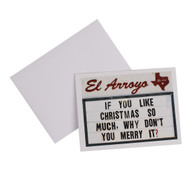 El Arroyo Merry It Christmas Card (ELARROYOGREETINGCARD)