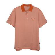 Texas Longhorn Mens' 40 Acres SUPIMA Stripe Polo (IS22210A)