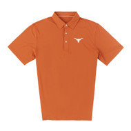 Texas Longhorn Mens' 40 Acres ECOTEC Solid Polo (IS26000)