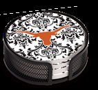 Texas Longhorn Pattern Coaster Set (4) (VUTX3)
