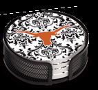 Texas Longhorn Pattern Coaster Set (4) (VUTX3)