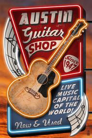 Austin Guitar Shop Magnet (45773)