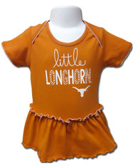 Texas Longhorn Infant Skirted Romper (2022)