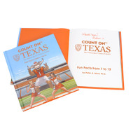 Count on Texas:The University of Texas at Austin Fun Facts from 1 to 12-Book (Signed by the Author) (9781643075266)