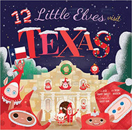 12 Little Elves Visit Texas-Book (9781942934035)