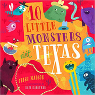 10 Little Monsters Visit Texas-Book ( 9781945547089)