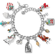 Brighton Christmas Traditions Charm Bracelet (JF7013)