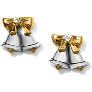 Brighton Silver Bells Mini Post Earrings (J21982)