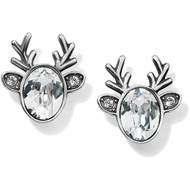 Brighton Reindeer Glitz Mini Post Earrings (J22221)