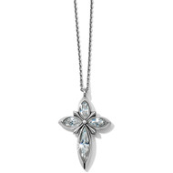Brighton Crystal Spear Cross Necklace (JM1701)