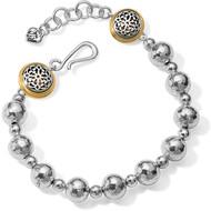 Brighton Ferrara Hammered Bead Bracelet (JF6952)