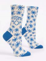 Blue Q Atomic Mom Crew Socks (SW520)