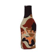 Texas Longhorn Camo Bottle Coozie (218-CAMO-BTK)