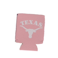 Texas Longhorn Pink Flat Can Coozie (FLAT-CAN-PINK)