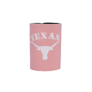 Texas Longhorn Pink Can Coozie (STAND-COOZIE-CAN)