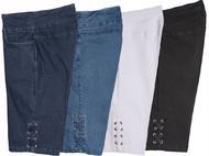 Thin Her Criss Cross Detail Shorts (4 Colors) (N20142WM)