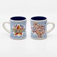 180 Texas Stoneware Mug (HY0212)