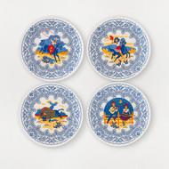 180 Southwest Melamine Plates (Set of 4) (ME0303)