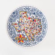 180 Texas Melamine Platter (ME0308)