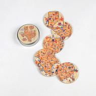 180 Texas Coaster Set (Tin Box) (YR0018)