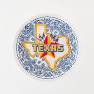 180 Texas Melamine Plates (Set of 4) (ME0305)
