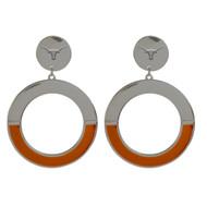 Texas Longhorn McKenna Earrings (87TX178)