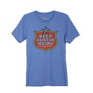 Keep Austin Weird Badge Tee (6060TSCB)
