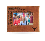 Texas Longhorn Laser Engraved Picture Frame (LESFRM260101B)