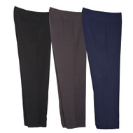 Thin Her Knit Pull-On Ankle Pant (3 Colors) (N00109PM)