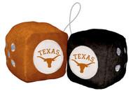 Texas Longhorn Fuzzy Dice (58067)