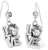 Brighton Love Earth French Wire Earrings (JA6580)